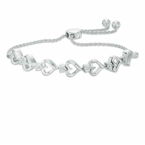 Zales Jewelry Sterling Silver Bracelet Poshmark